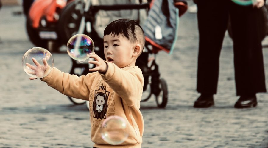 3 Ways to Use Bubbles to Improve Your Child's Visual Skills